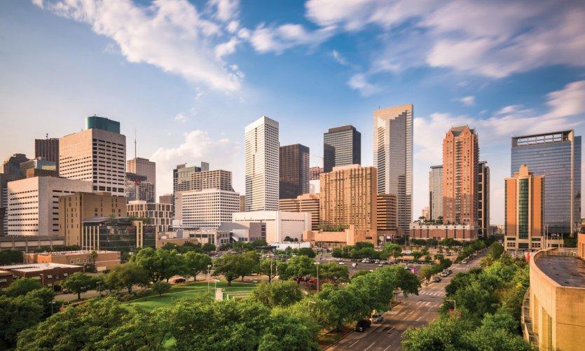 <p>Ciudad de Houston.</p>