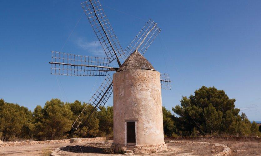 Moulin de la Mola.