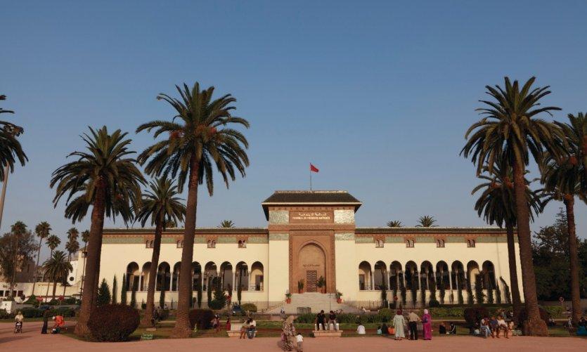 Palais de justice sur la place Mohammed V.