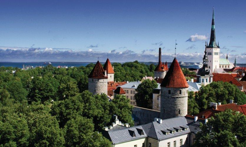 <p>Vieille ville de Tallinn.</p>