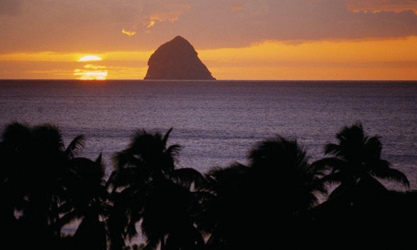 Coucher de Soleil sur Anse-Figuier.