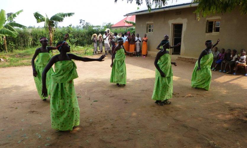 Danse traditionnelle.