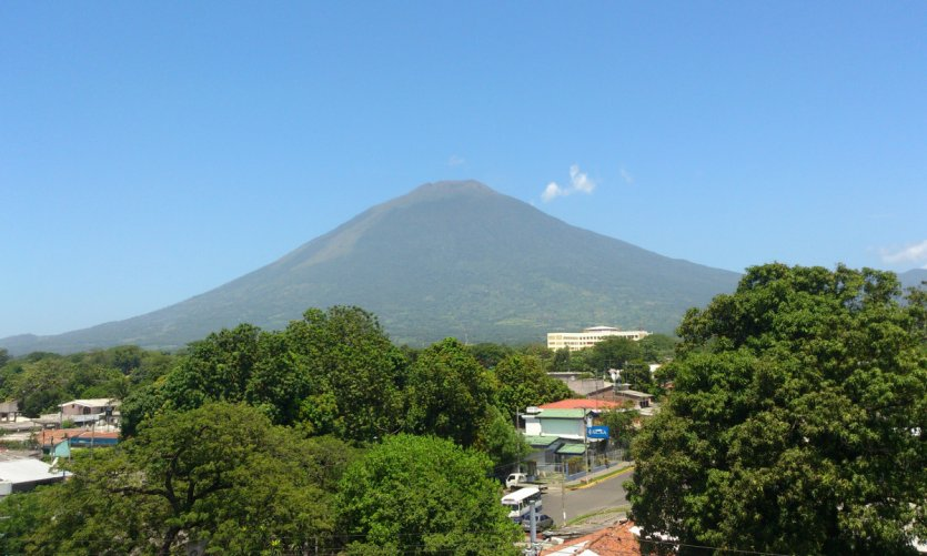 The volcano of San Miguel.