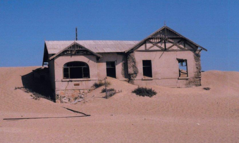 La ville fantôme de Kolmanskop.