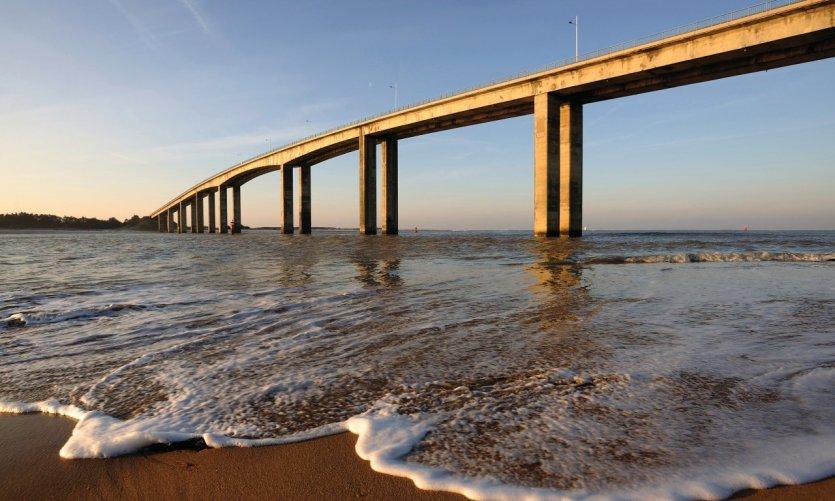Le pont de l'île de Noirmoutier