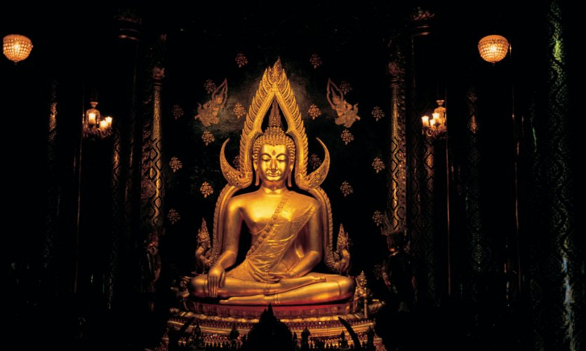 Bouddha Chinarat du Wat Phra Si Ratana Mahathat.
