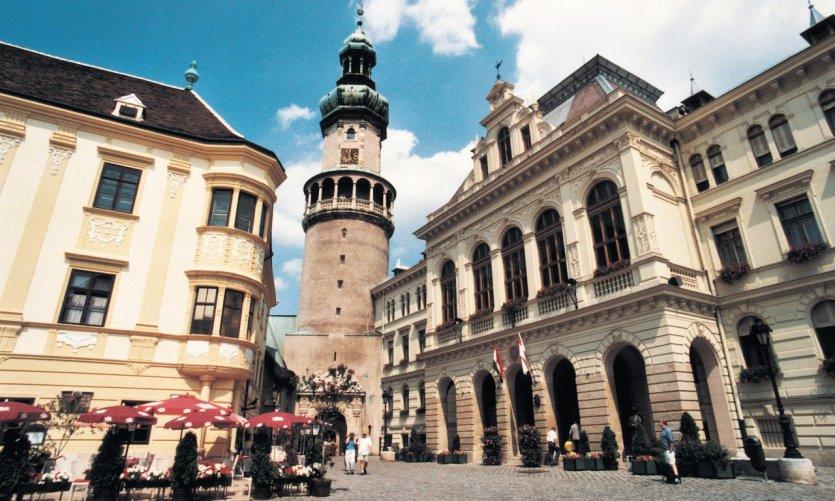 Centre historique de Sopron.