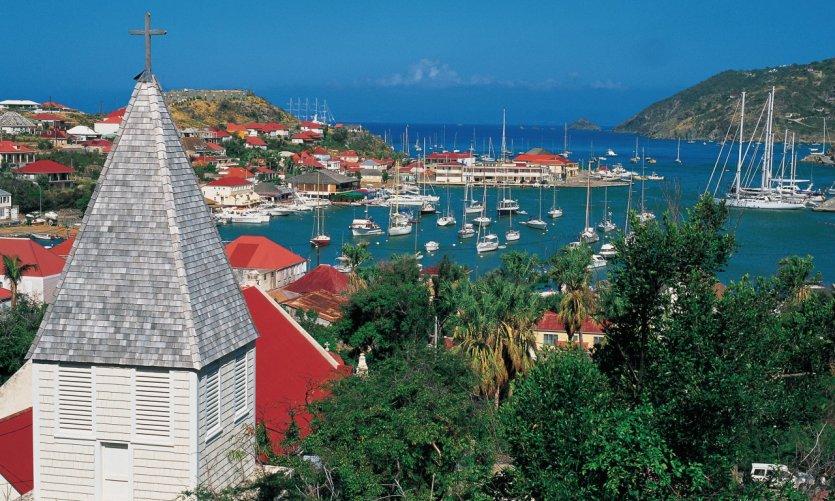 Saint-Martin et les îles alentour