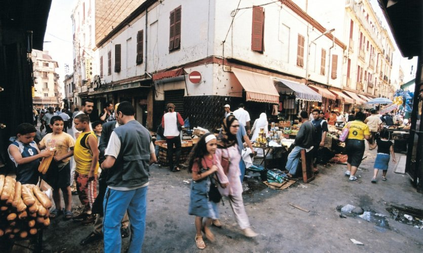 <p>Quartier de la rue de la Bastille.</p>