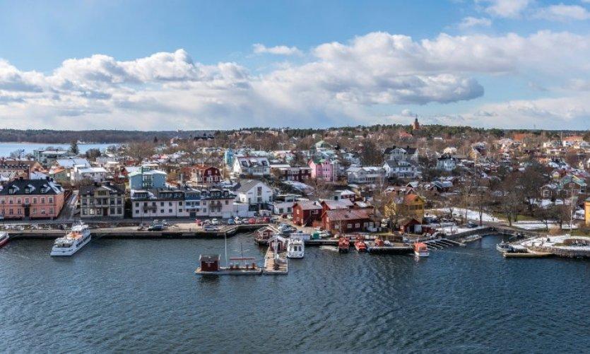 L'île de Vaxholm.