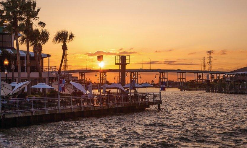 Week-end balnéaire au Texas, le long du Golfe du Mexique