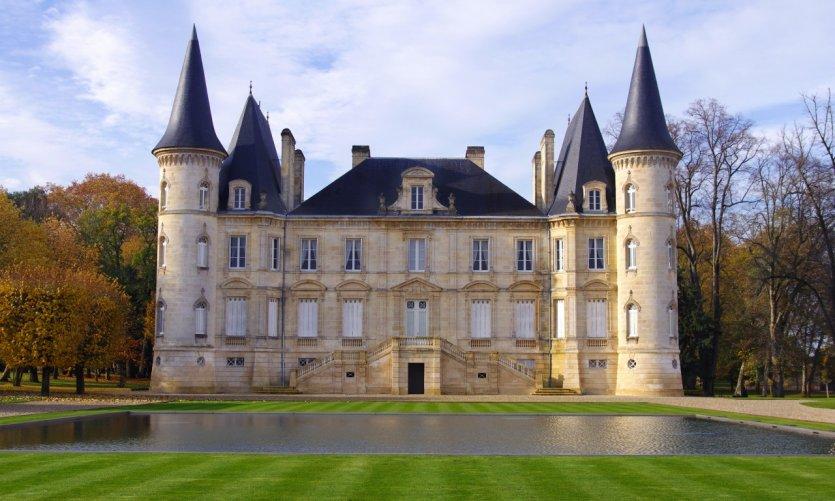 Château Pichon Longueville.