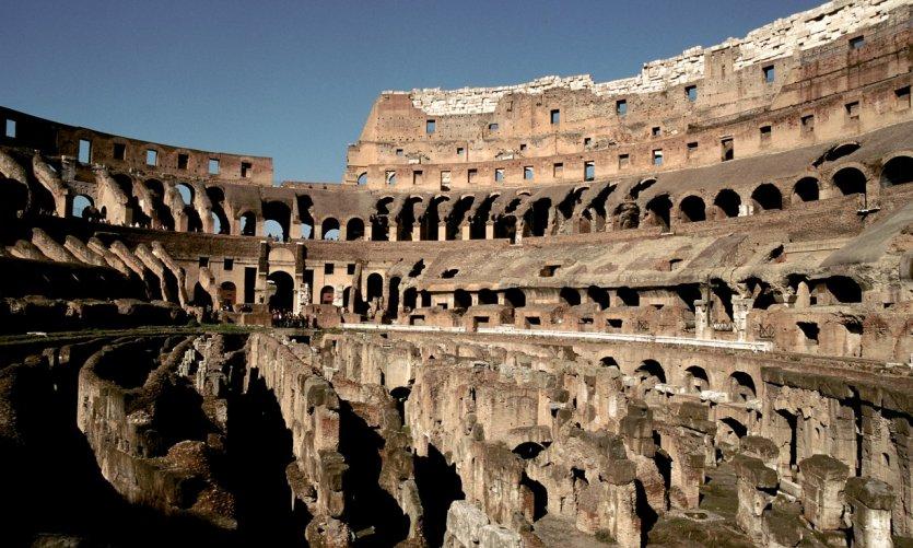 Dans les coulisses du Colisée.