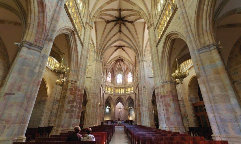 Cathédrale de Santiago située dans le Casco Viejo.