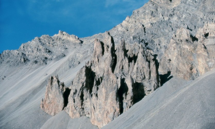 Le col d'Izoard, dans le massif du Queyras