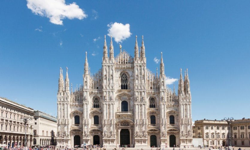 Le Dôme de Milan.
