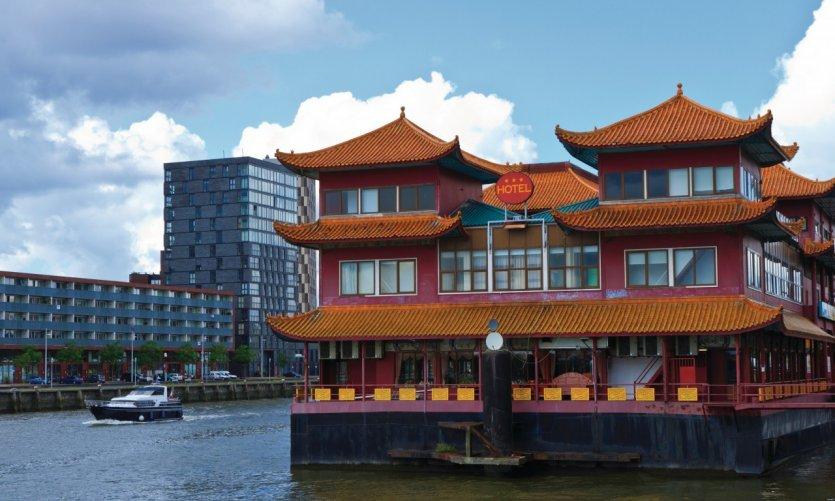 Restaurant chinois flottant.