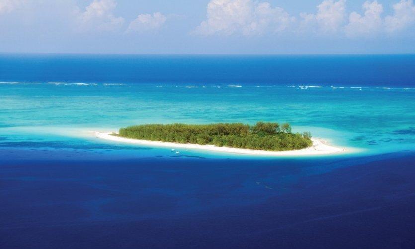 La petite île de Mnemba.