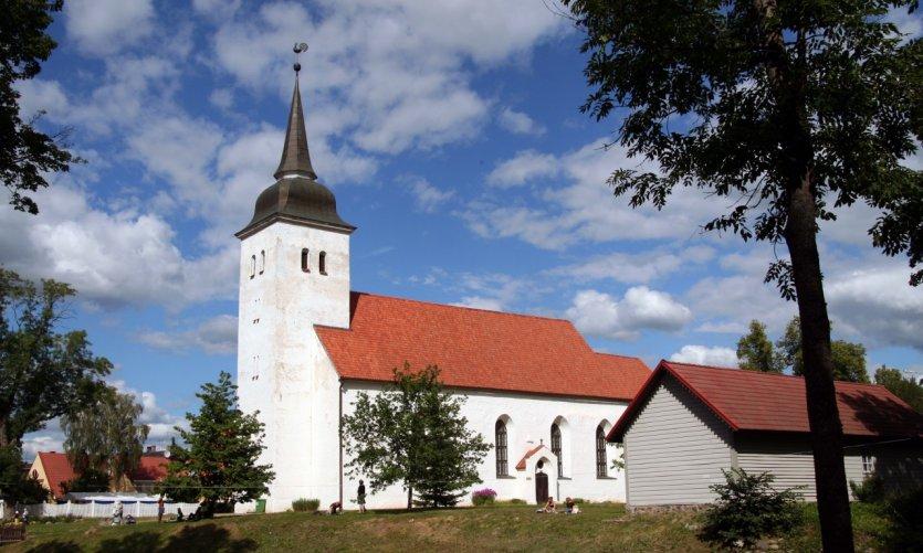 Eglise Saint-Jean, à Viljandi.