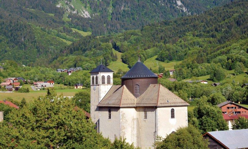 Eglise du village de Bernex.