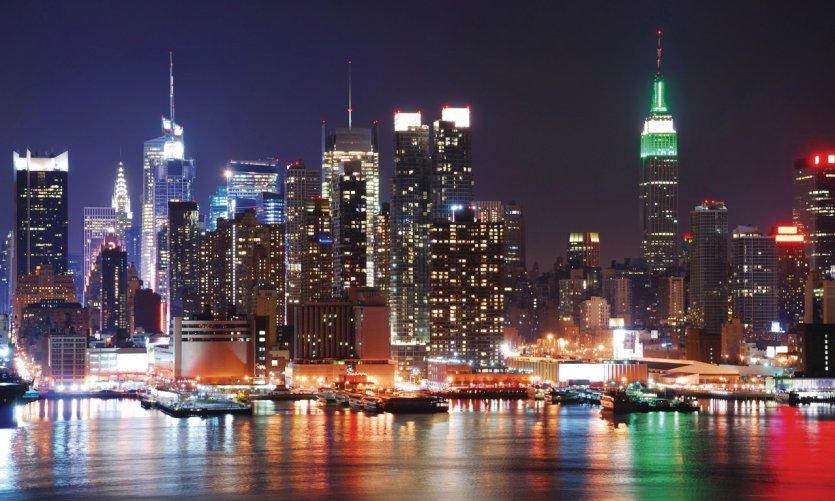 Empire State Buiding & Hudson River