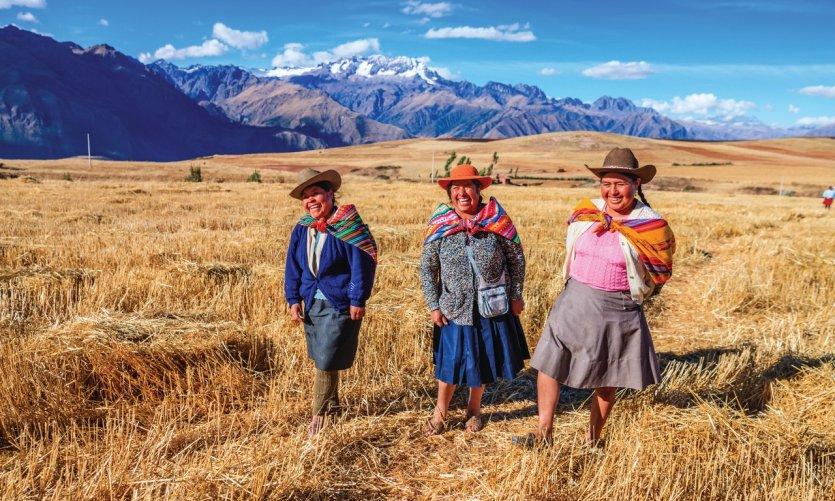 Vallée sacrée des Incas.