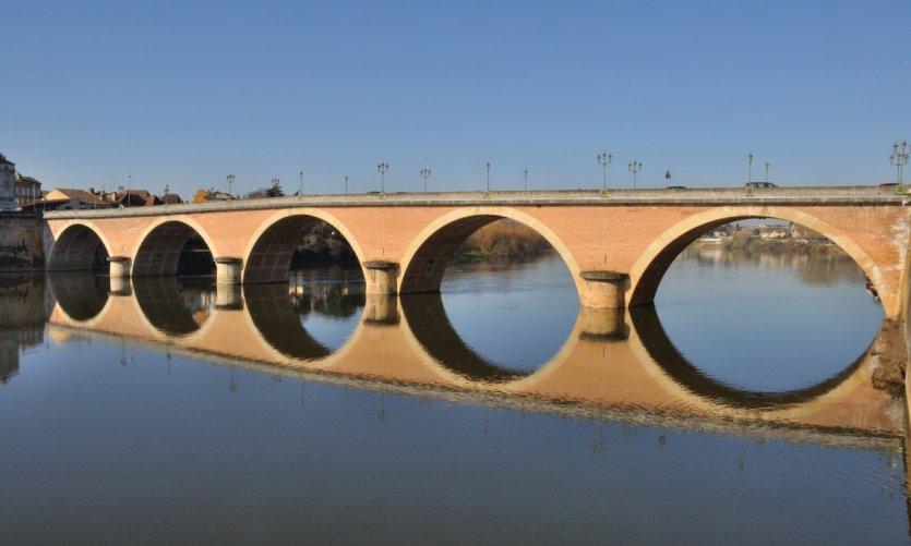 Le pont de Bergerac.