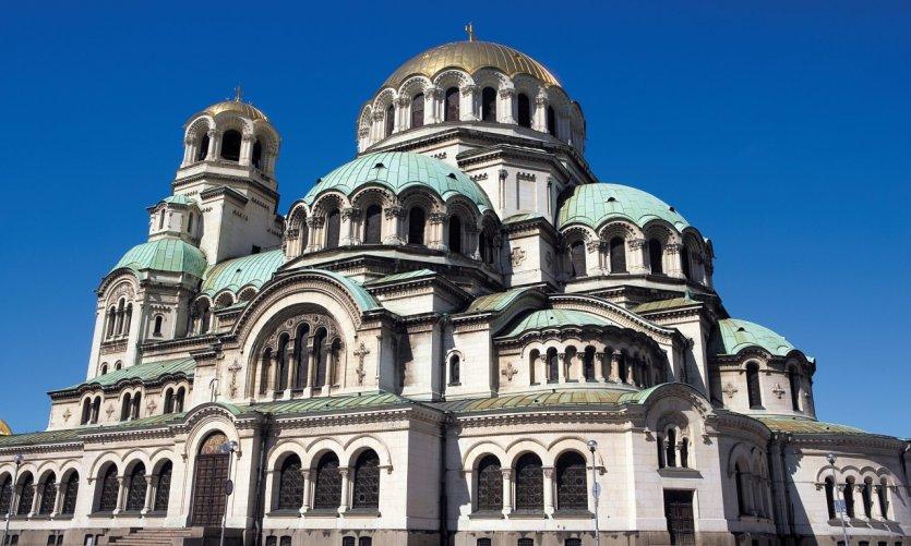 Cathédrale Saint-Alexandre-Nevski.