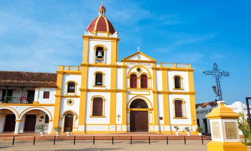 Eglise de Mompox.