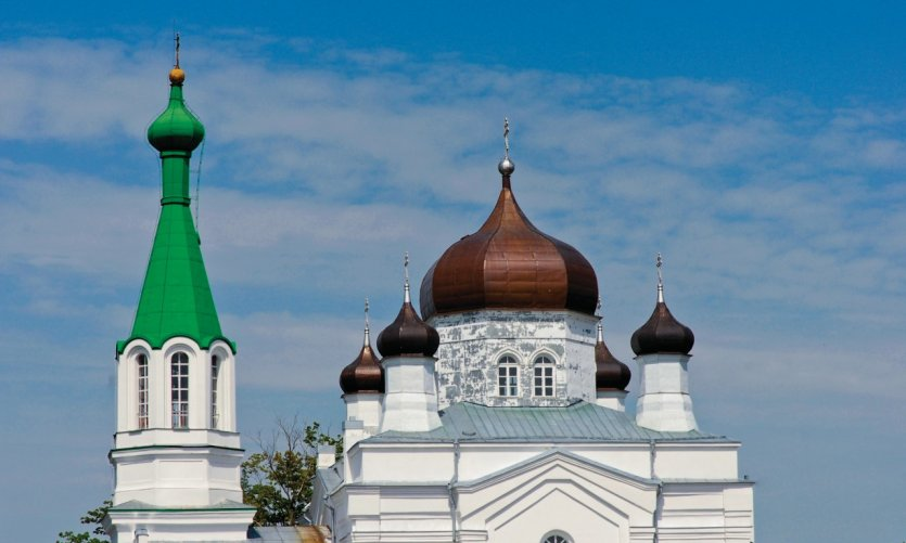 Église orthodoxe de Vasknarva.