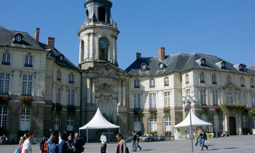 Rennes guide touristique petit fut for Boutique hotel rennes