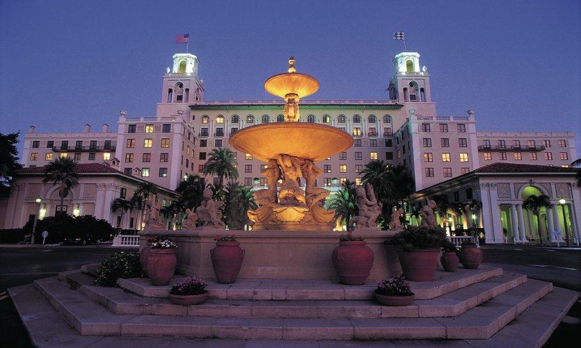 Hôtel Breakers à Palm Beach.