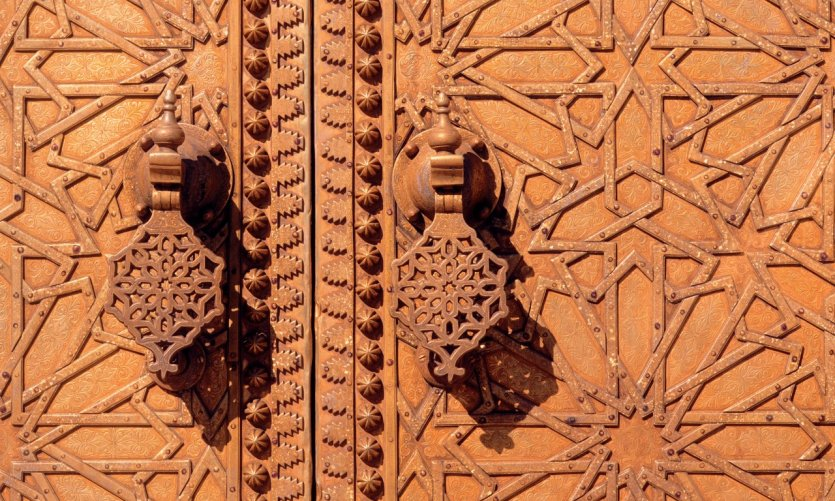 El-Jedid, door of the Royal Palace.