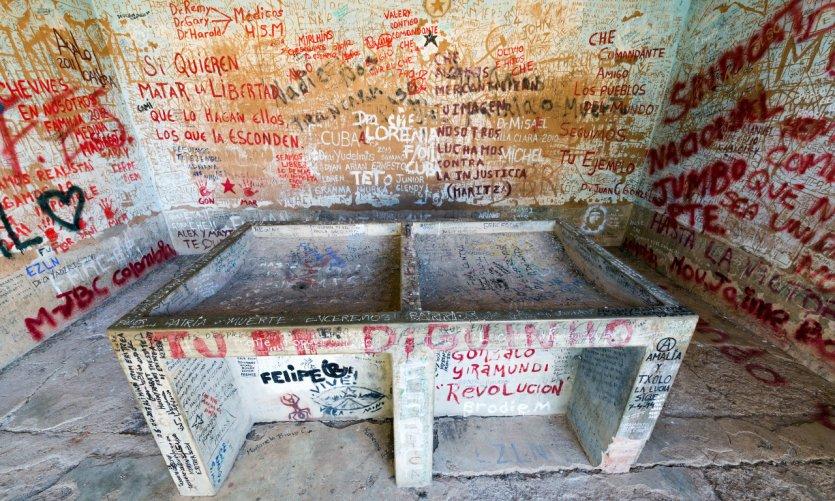 <p>La Lavandería donde el cuerpo del Che Guevara fue expuesto a los medios de comunicación de todo el mundo.</p>