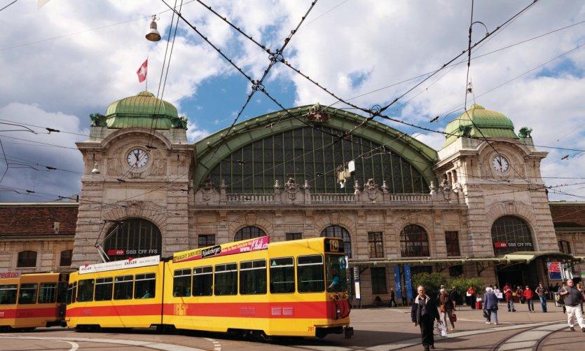 Gare principale SBB.