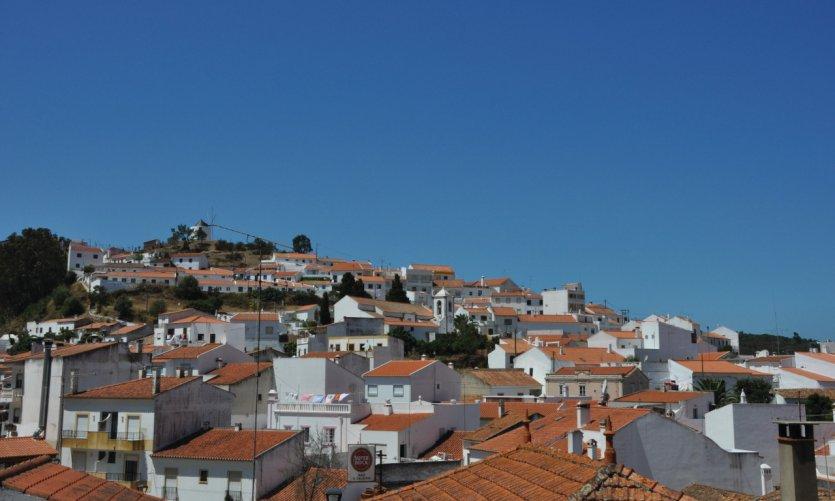La ville d'Aljezur.