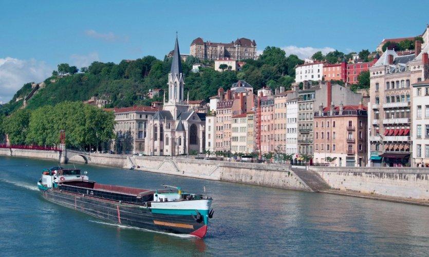 La Saône à Lyon