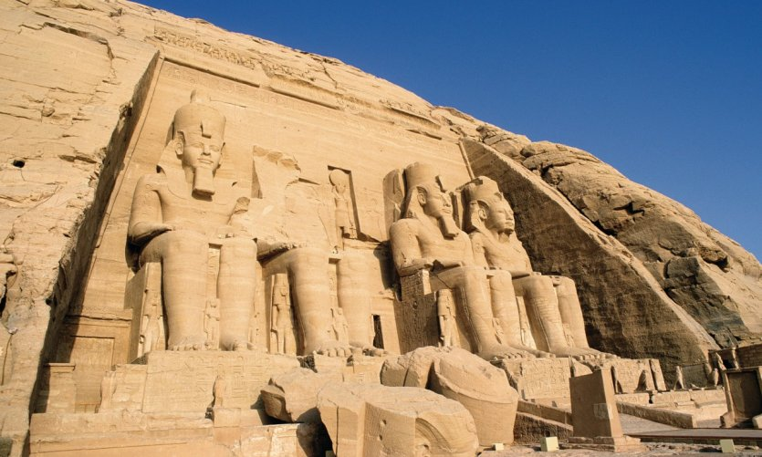 The Grand Temple of Rameses II.