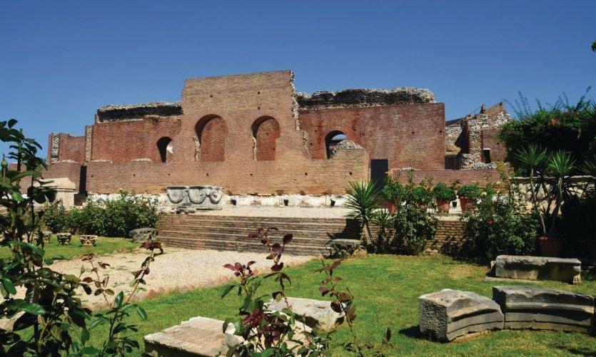 L'Odéon romain.