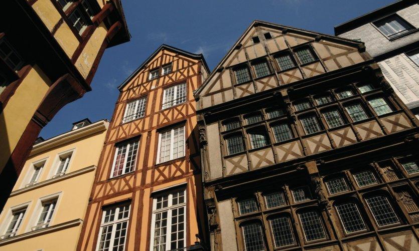 Maisons anciennes à Rouen