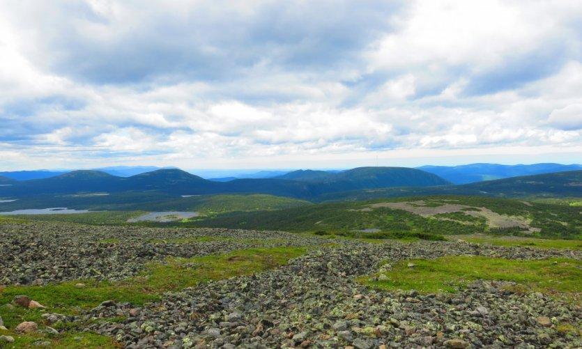 Parc national de la Gaspésie, Mont Jacques-Cartier.