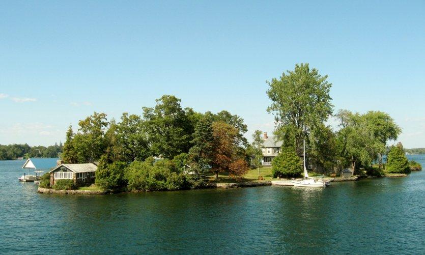 Maisons de vacances dans les Mille-Îles.