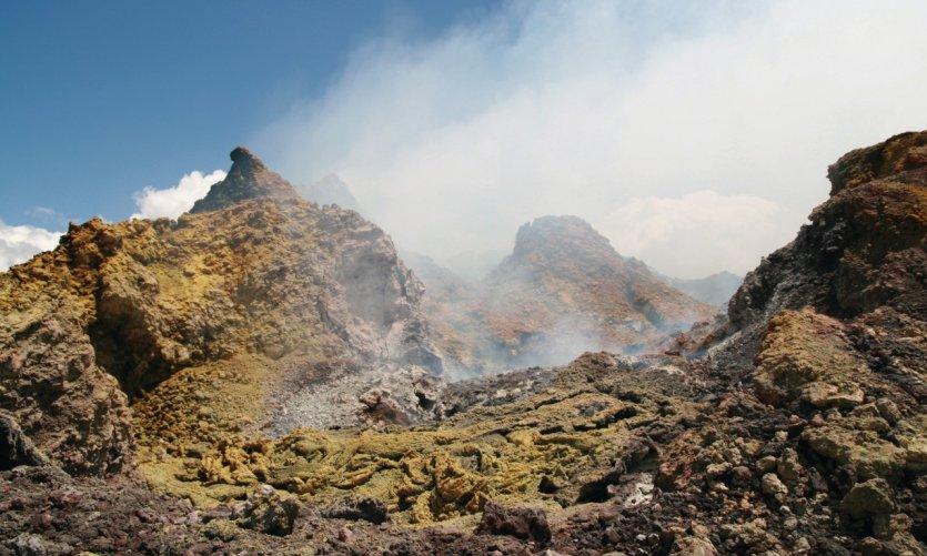 Volcan guatemalteque.