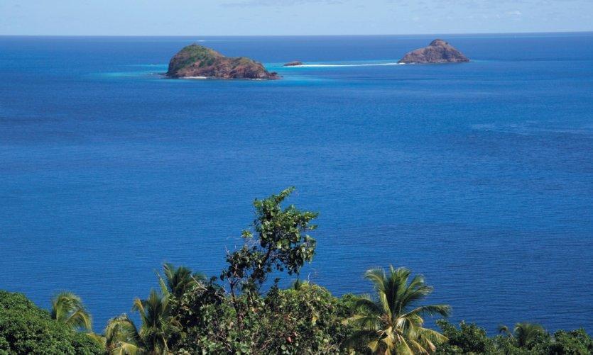 Choizil est l'un des sites les plus réputés au nord de Mayotte.