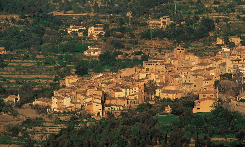 Estellencs, village typique de la Tramuntana.