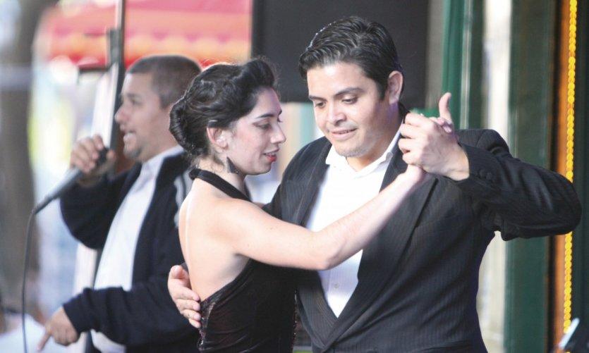 Le tango, institution à la Boca