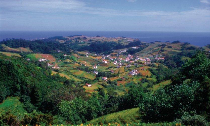 Village à Santa Maria.