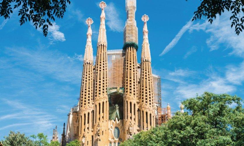 La célèbre Sagrada Família.