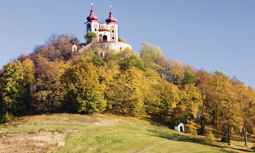 Calvaire de Banská Štiavnica.