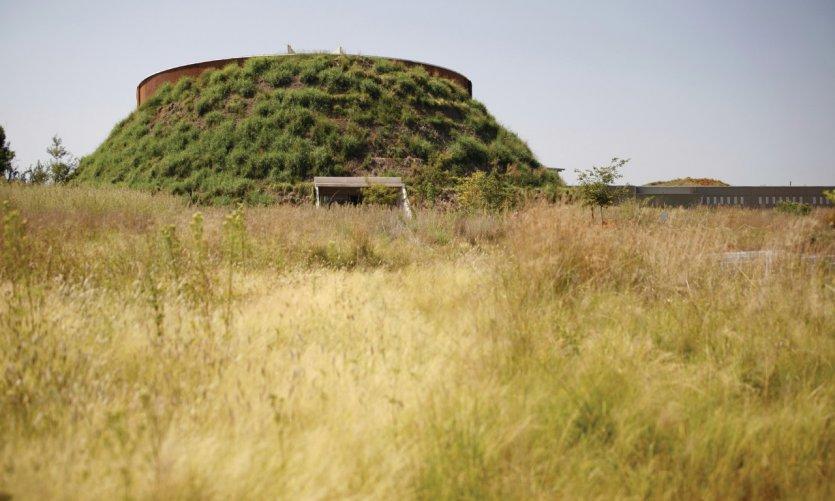 Tumulus de Maropeng.